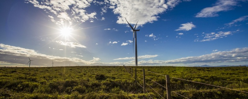 Jeffreys Bay Wind Farm Turbine